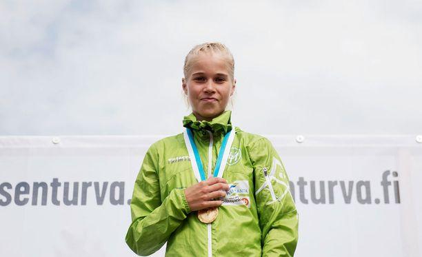 Alisa Vainio ei odota innolla matematiikan yo-koetta.
