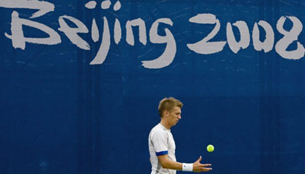 Pekingin olympialaisissa Jarkko Nieminen lensi laulukuoroon jo ensimmäisellä kierroksella.