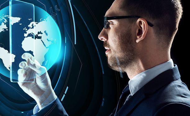 Monet yritykset kehittävät omia AR-lasejaan. Kuvituskuva.