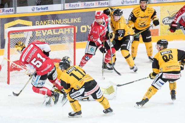 Antti Kalapudas teki voittomaalin jatkoajalla.