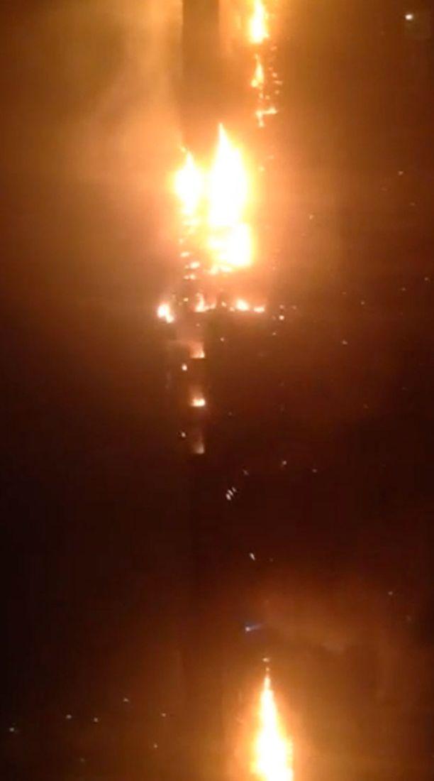 Palossa ei loukkaantunut ketään.
