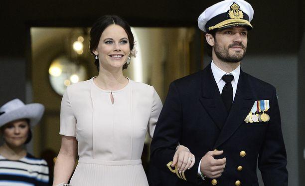 Prinsessa Sofia ja prinssi Carl Philip ovat kahden pojan vanhemmat.