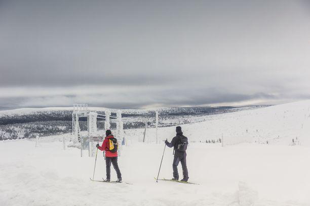 Arkistokuva Saariselältä vuodelta 2017.