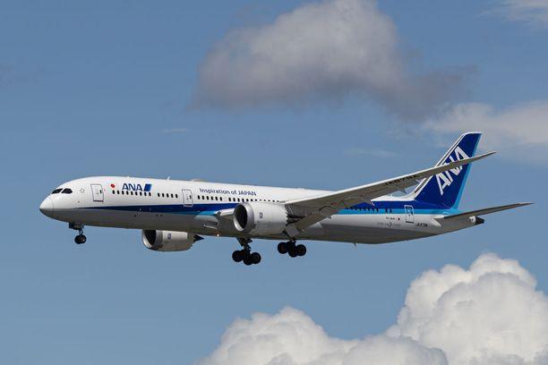 Erikoinen virtsaamistapaus sattui All Nippon Airwaysin 13-tuntisella lennolla Yhdysvaltojen Chicagosta Japanin Tokioon.