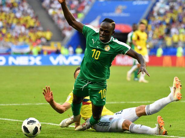 Senegalin Sadio Mane tekee debyyttinsä Afrikan mestaruusturnauksessa.