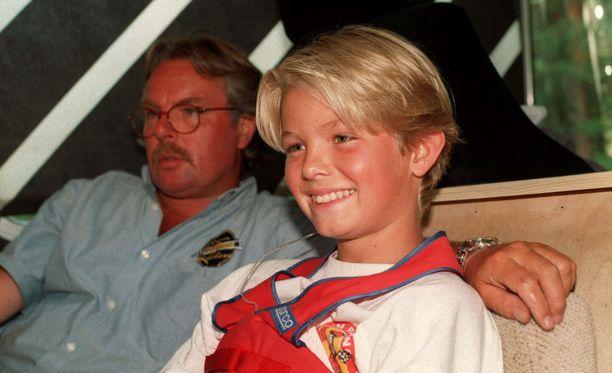 Rosberg sai elää varsin etuoikeutettua lapsuutta Monacossa.