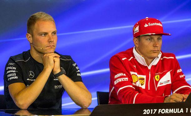 Valtteri Bottas ja Kimi Räikkönen palaavat työpaikalleen, F1-auton rattiin 26. helmikuuta.