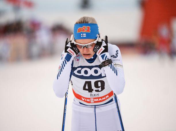 Hiihtäjien ammattivaiva kaatoi Anne Kyllösen.