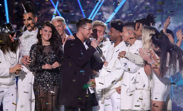X Factorin finaali kiinnosti Suomessa.