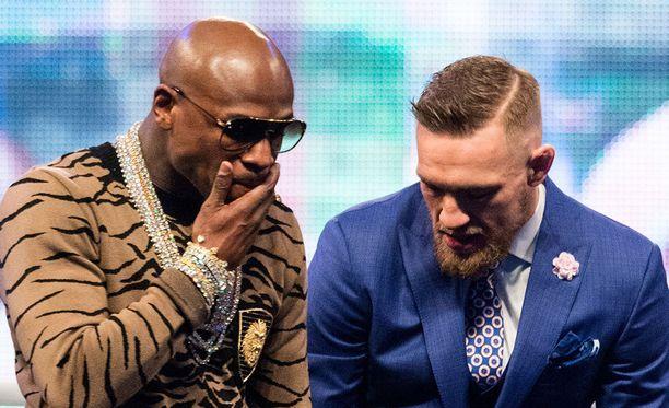 Floyd Mayweatherin ja Conor McGregorin kohuottelu käydään Las Vegasissa.