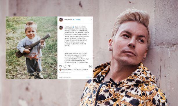 Antti Tuisku vastustaa julkisesti kiusaamista tuoreessa somepäivityksessään.