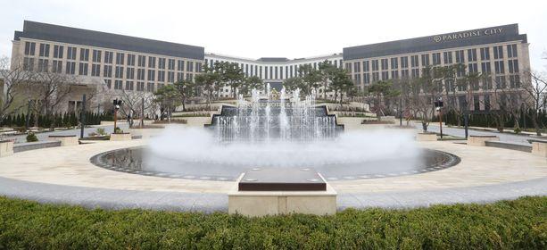Paradise City on hotelli- ja kasinokompleksi, josta ei luksusta puutu.