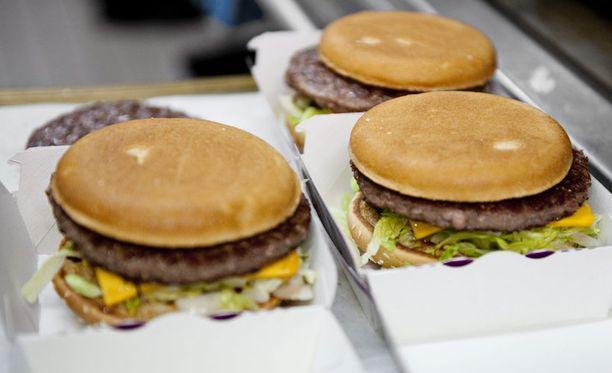 Amerikassa hampurilaisia saa pian kotikuljetuksella.