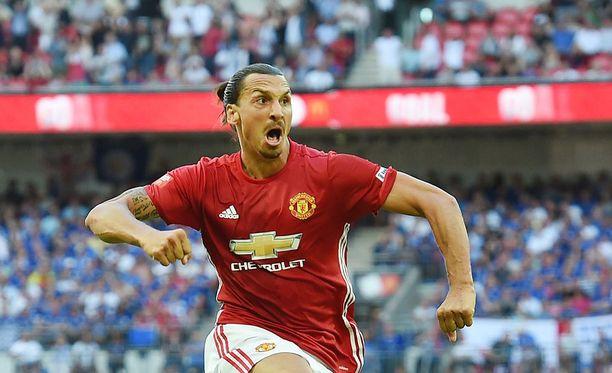 Zlatan Ibrahimovic tuli Englantiin voittamaan.