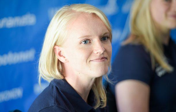 Minna Nikkanen voitti alle 20-vuotiaiden EM-kultaa vuonna 2007.