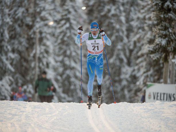 Näissä Koillismaan maisemissa nähtäneen ensi kaudesta alkaen säännöllisesti kuusi hiihdon maailmancupin osakilpailua: kolme naisille ja kolme miehille. Kuvassa Iivo Niskanen Rukan maailmancupissa vuonna 2016.