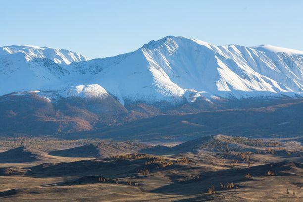 Kannabislöytöjä on tehty myös Altai-vuoristosta Venäjältä.