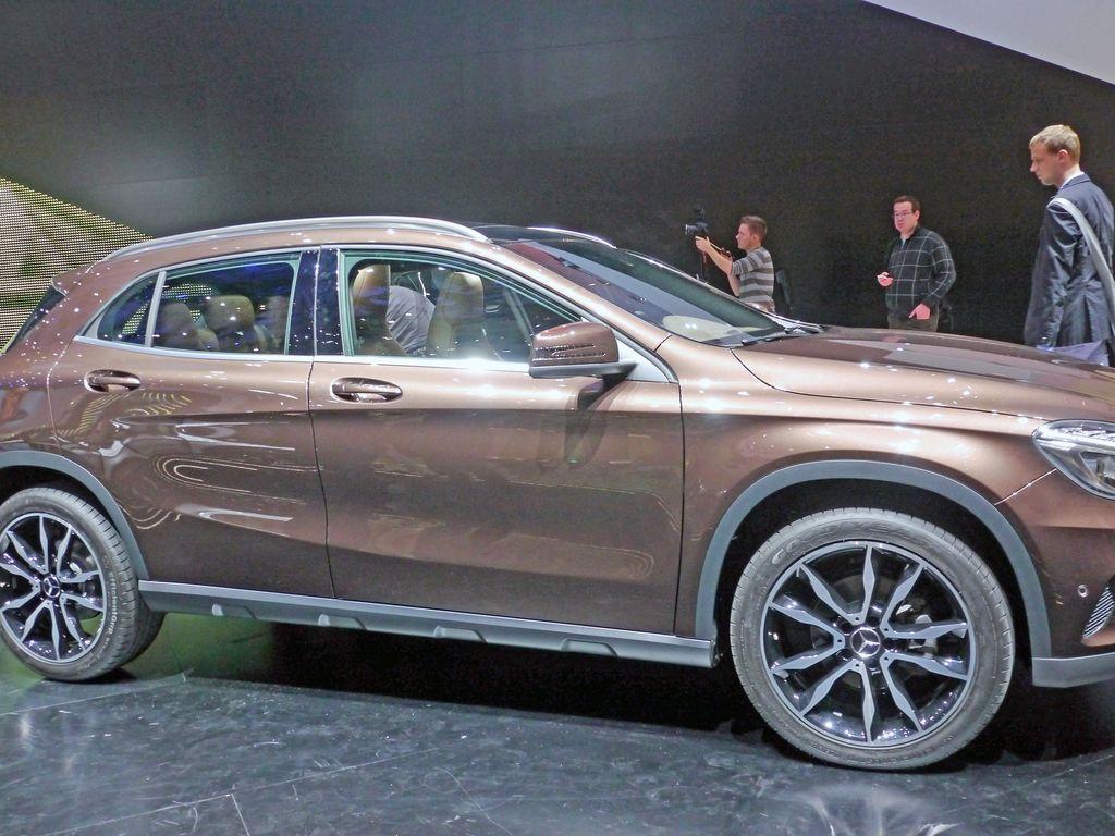 Pienemmän eli A-sarjan Mercedes -katumaasturi vaikuttaa kestävältä.