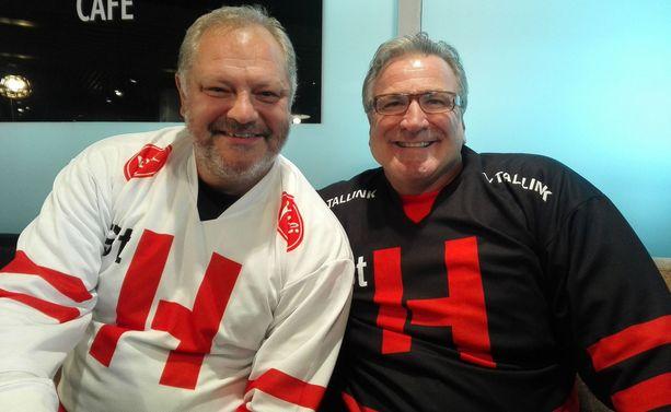 Esa Tikkanen ja Glenn Anderson pelaavat Street Hockey -kiertueen tähdistöottelussa lauantaina.