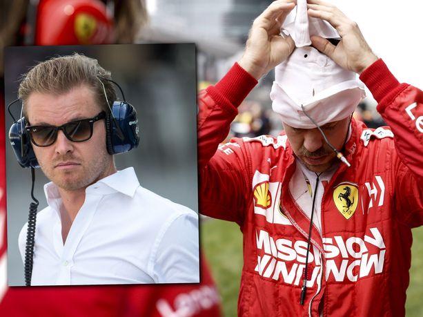 Nico Rosberg ei ole ollenkaan varma, pystyykö Ferrari haastamaan Mercedestä vielä Azerbaidzhanissakaan.