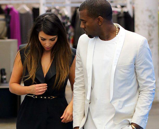 Kanye Westkin huomasi rakkaansa tuskailun.