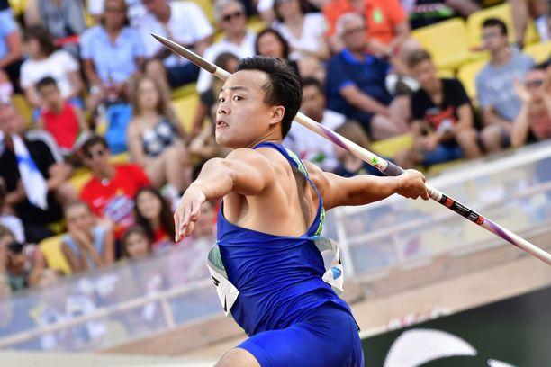 Chao Tsun Cheng vei voiton Timanttiliigan osakilpailussa Birminghamissa.