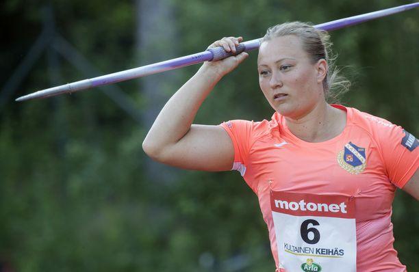 Heidi Nokelaista ei nähdä Suomi-Ruotsi-maaottelussa.