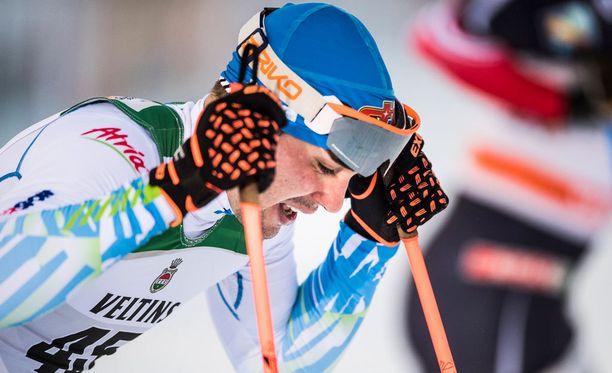 Ristomatti Hakola oli Toblachin sprinttien paras suomalainen 11. sijallaan.