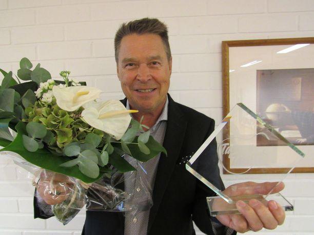 Markku Aro kertoo yllättyneensä täysin, kun kuuli voittaneensa Iskelmä-Finlandian.