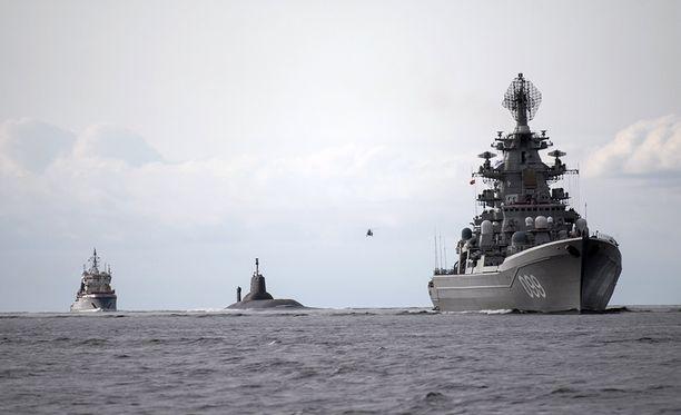 Ensimmäistä kertaa Kiinan sotalaivastoa osallistuu Venäjän kanssa yhteisiin harjoituksiin Itämerellä.