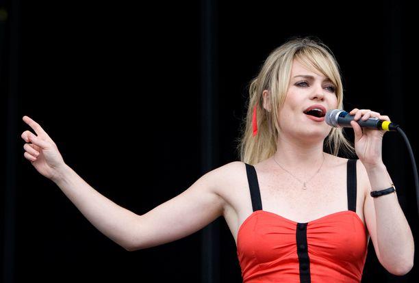 Duffyn oikea nimi on Aimee Ann Duffy. Kuvassa walesilaistähti Virgin Mobile Music festivaalilla vuonna 2008.