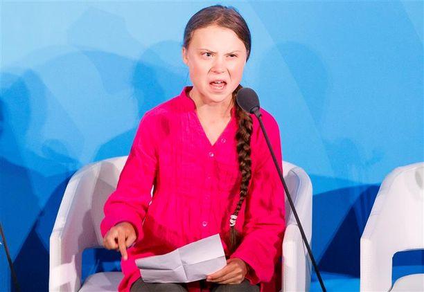 Ilmastoaktivisti Greta Thunbergin puhe YK:n ilmastokokouksessa on herättänyt voimakkaita reaktioita puolesta ja vastaan.