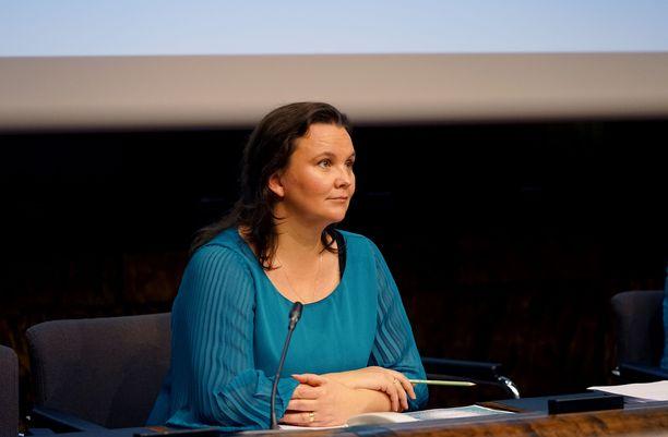 Tutkija Hanna Smith.