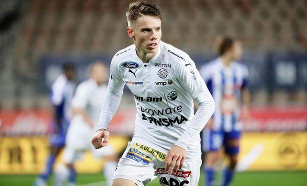 RoPS:n hyökkäävä keskikenttäpelaaja Robert Taylor siirtyy Allsvenskaniin.
