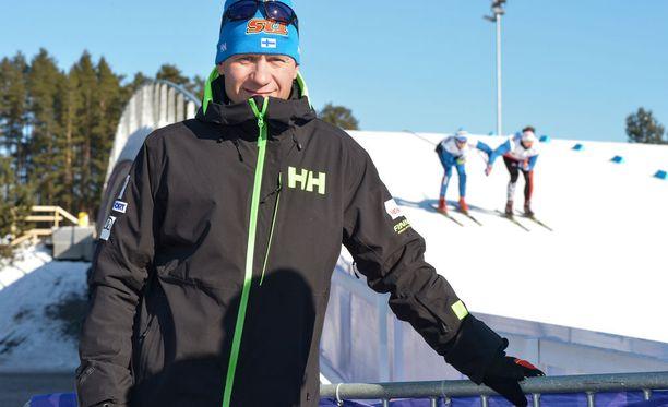Toni Roponen toimii tällä kaudella Iltalehden hiihto- ja ampumahiihtoasiantuntijana.