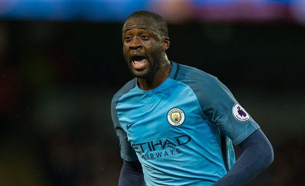 Yaya Touré jatkaa Manchesterissa.