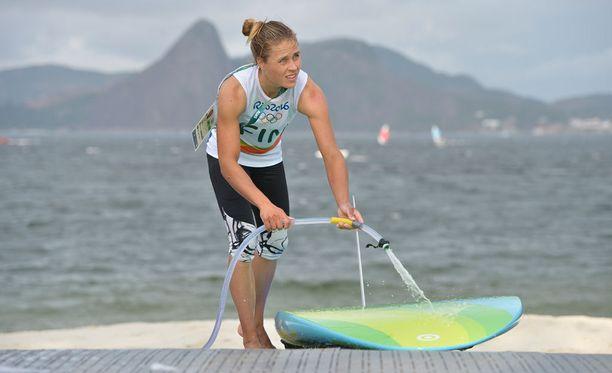 Tuuli Petäjä-Siren rantautui ensimmäisestä lähdostään maanantaina Riossa.