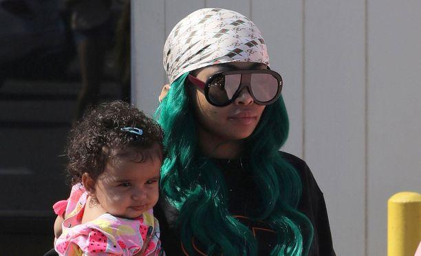 Blac Chynan ja Rob Kardashianin tytär Dream on jo vuoden ikäinen.