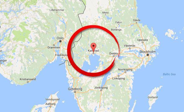 Asuntopalo syttyi Keski-Ruotsissa Karlstadissa.