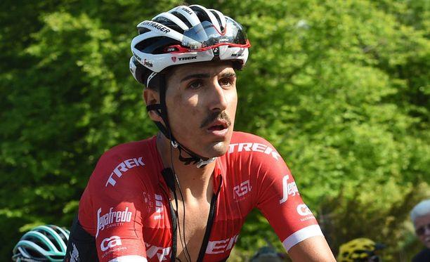 Eugenio Alafaci menetti malttinsa tänään Italian ympäriajossa.