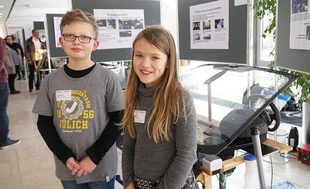 Daniel ja Lara Krohn herättivät nerokkaalla ideallaan Fordin insinöörien mielenkiinnon.