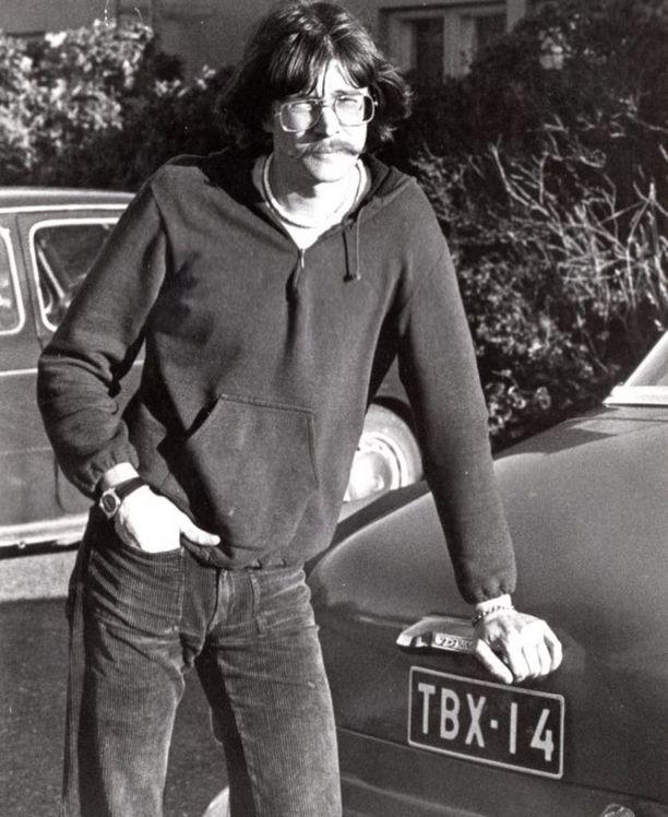 Johnny-Kai Forssellilla on ollut pitkätukka jo hamalta 1960-luvulta lähtien.