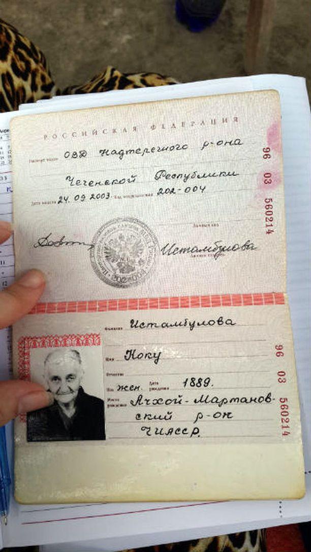 Koku Istambulovan passi.
