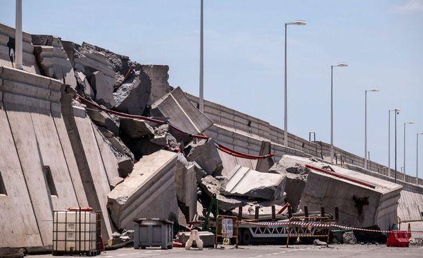 Betonirakenteiden korjaaminen tulee maksamaan miljoonia euroja ja kestämään useita kuukausia.