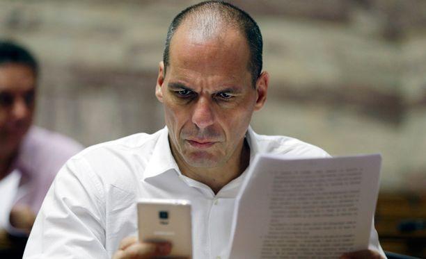Varoufakis ei ole tyytyväinen pelastusohjelmaan.