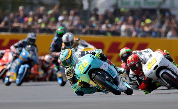 Le Mansin Moto3-kisassa nähtiin melkoinen kolarisuma.