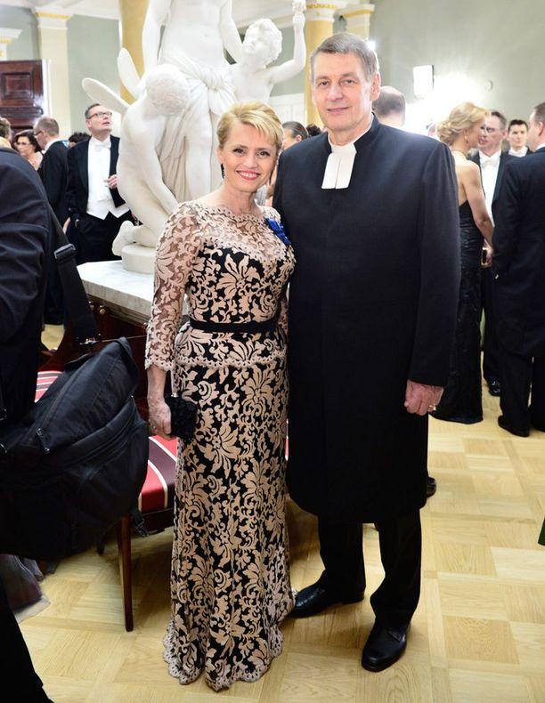 Päivi Räsänen ja puoliso Niilo.