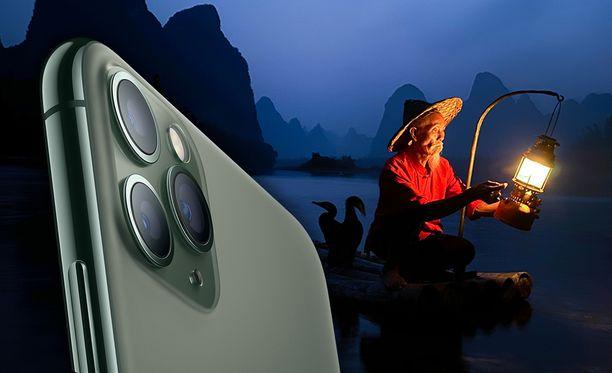 Apple on julkistanut kisan, jossa etsitään parasta yökuvaa.