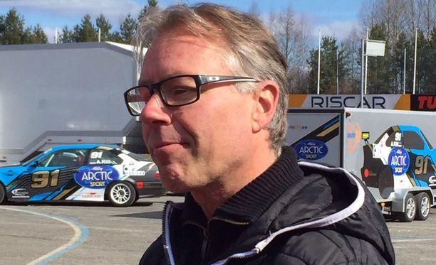 Jyrki Järvilehdon mukaan karting-onnettomuus oli normaali kilpailutilanne.