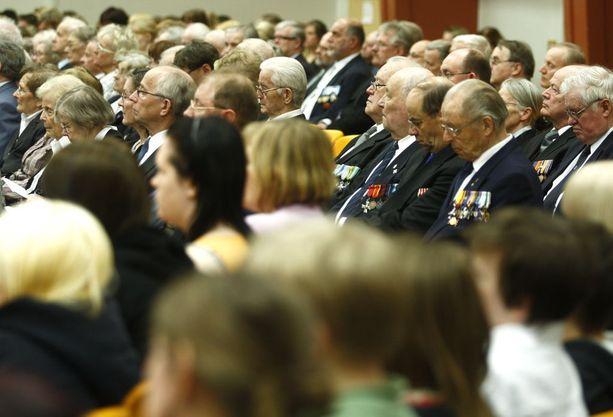 Suomen sotaveteraanit luottavat siihen, että heidän tekemäänsä työtä arvostetaan.
